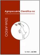 Agropecuária Científica no Semiarido